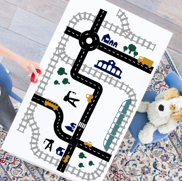 XL voordeelset Sticky Roads+Rails