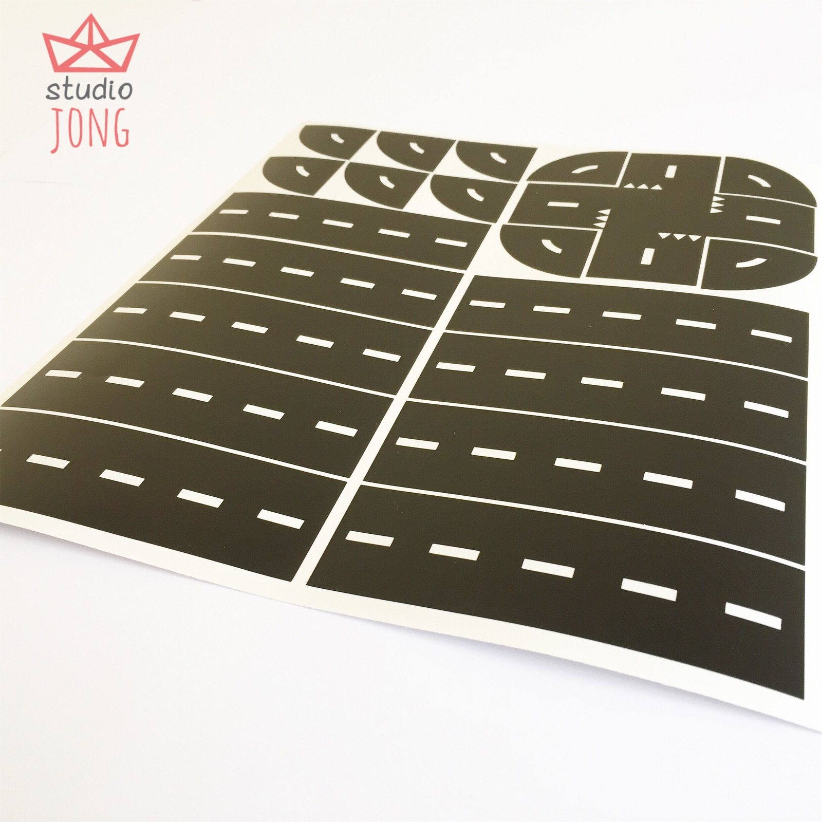 Sticky Roads (wall) stickers